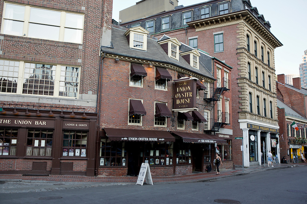 UNITED STATES-BOSTON-Union Oyster House. The oldest restaurant in the United States. PHOTO: GERRIT DE HEUS .VERENIGDE STATEN-BOSTON-Union Oyster House. Het oudste restaurant van Amerika. PHOTO GERRIT DE HEUS