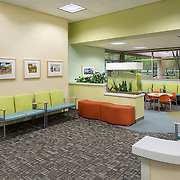 Interior Designed By Lionakis Healthcare Infrastructure - Architectural Example of Chip Allen Photography.