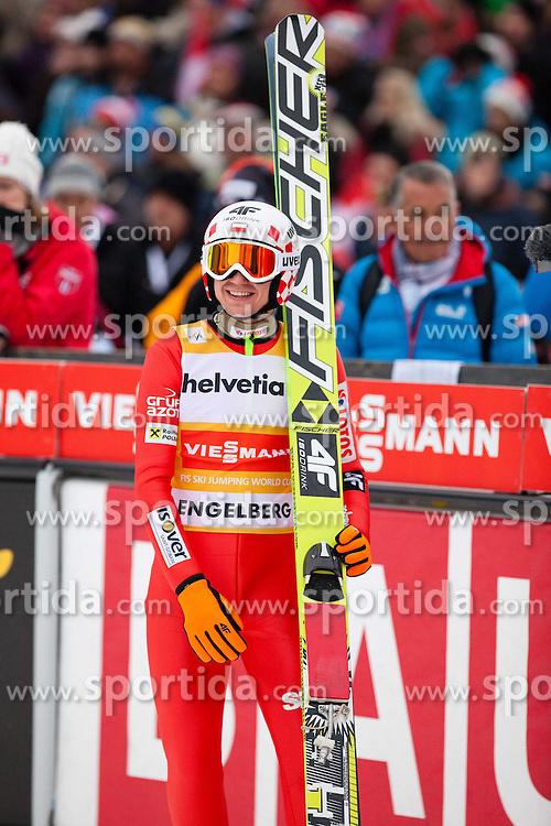 22.12.2013, Gross Titlis Schanze, Engelberg, SUI, FIS Ski Jumping, Engelberg, Herren, im Bild Kamil Stoch (POL) // during mens FIS Ski Jumping world cup at the Gross Titlis Schanze in Engelberg, Switzerland on 2013/12/22. EXPA Pictures &copy; 2013, PhotoCredit: EXPA/ Eibner-Pressefoto/ Socher<br /> <br /> *****ATTENTION - OUT of GER*****