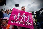 Family Day 2016 - Demo against civil unions law for same-sex couples