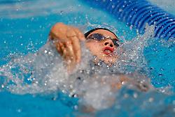 Mojca Skratek at swimming competition of EYOF 2007 (European Youth Olympic Festival) in Belgrade, 21. - 28. July 2007,  Tasmajdan pool, Belgrade, Serbia. (Photo by Vid Ponikvar / Sportida)