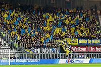 ALKMAAR - 02-03-2017, AZ - sc cambuur, AFAS Stadion, uitvak met 1100 Cambuur supporters.