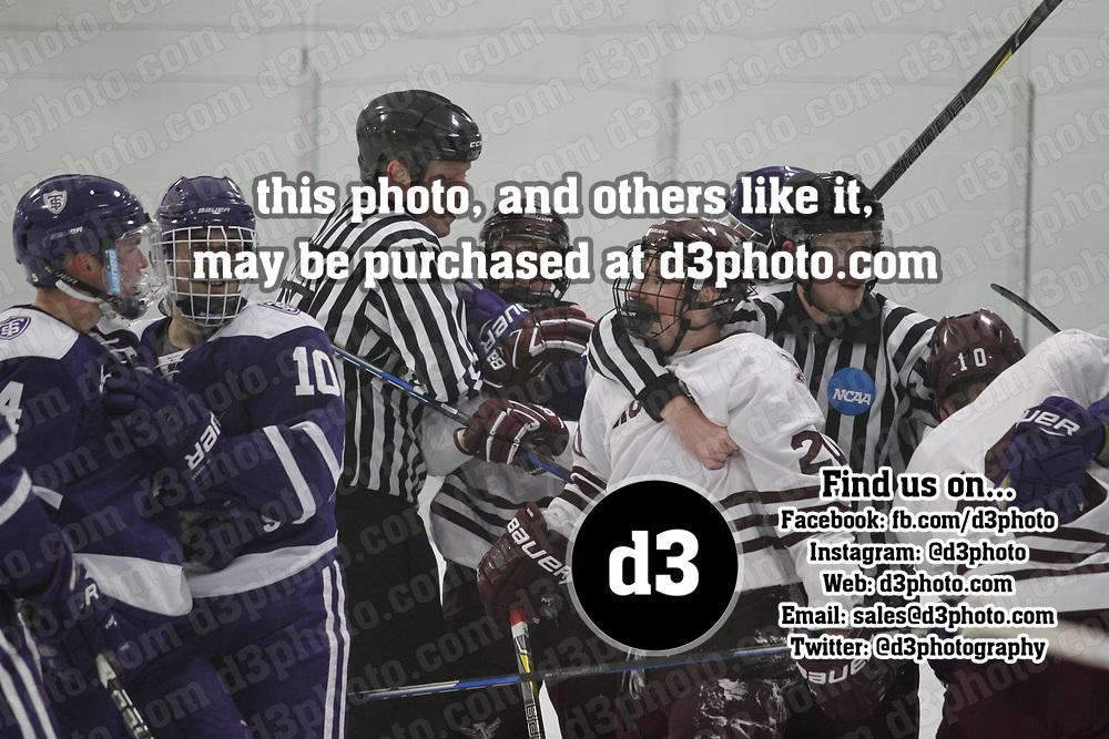 Men's Ice Hockey: Augsburg University Auggies vs. University of St. Thomas (Minnesota) Tommies