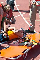 Behind the scenes, , 200m, T34, 2013 IPC Athletics World Championships, Lyon, France