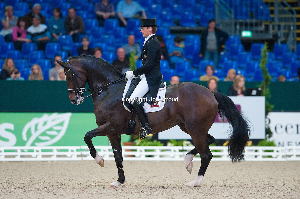 Edward Gal (NED) & Sisther de Jeu - Reem Arca FEI World Cup Final Dressage - FEI World Cup Finals, Partner Pferde - Leipzig, Germany - 28 April 2011