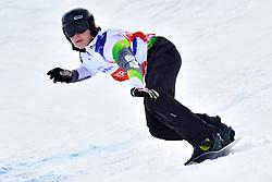 TUDHOPE Ben, SB-LL2, AUS, Banked Slalom at the WPSB_2019 Para Snowboard World Cup, La Molina, Spain