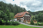 Traditional inn in Grafenhausen, Waldshut in Baden-Wurttemberg, Germany
