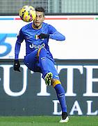 Udine, 01 febbraio 2015<br /> Serie A 2013/2014. 21^ giornata.<br /> Stadio Friuli.<br /> Udinese vs Juventus..<br /> Nella foto: il centrocampista della Juventus Roberto Maximiliano Pereyra.<br /> © foto di Simone Ferraro