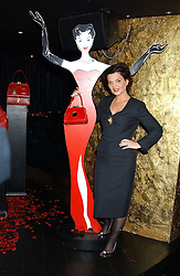 LULU GUINNESS at a preview of her new Handbag Collection ' Couture' held at Aviva, Baglioni Hotel, 60 Hyde Park Gate, London SW7 on 15th February 2006.<br /><br />NON EXCLUSIVE - WORLD RIGHTS