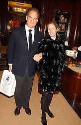 CHARLES & SYDNEY FINCH at a party at Ralph Lauren, Bond Street, London in support of the NSPCC's Full Stop campaign on 21st March 2006.<br /><br />NON EXCLUSIVE - WORLD RIGHTS