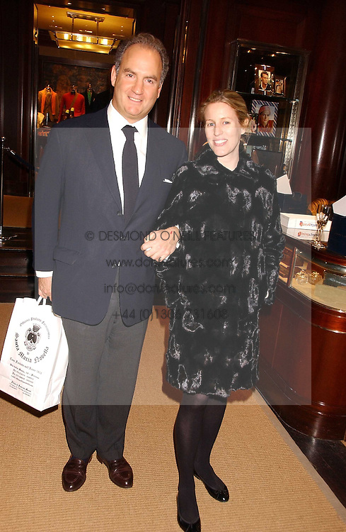 CHARLES &amp; SYDNEY FINCH at a party at Ralph Lauren, Bond Street, London in support of the NSPCC's Full Stop campaign on 21st March 2006.<br />