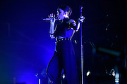 "Photos of Banks performing live for ""The Madness Fall Tour"" at Prudential Center in Newark, NJ on November 11, 2015. © Matthew Eisman/ Getty Images. All Rights Reserved"