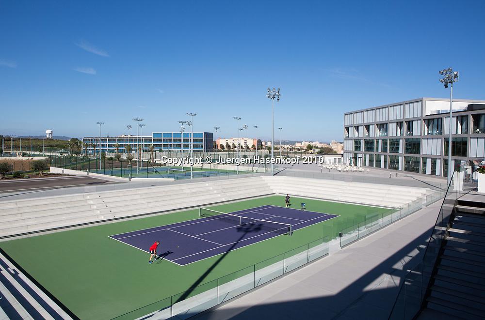 Rafa Nadal Academy in Manacor, Mallorca<br /> <br />  - Rafa Nadal Academy -  -  Rafa Nadal Academy - Manacor - Mallorca - Spanien  - 27 October 2016. <br /> &copy; Juergen Hasenkopf