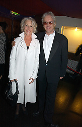 DAME HELEN MIRREN and ELLIOT GROVE founder of the British Independent Film Awards at the 9th Annual British Independent Film Awards at the Hammersmith Palais, London on 29th November 2006.<br /><br />NON EXCLUSIVE - WORLD RIGHTS