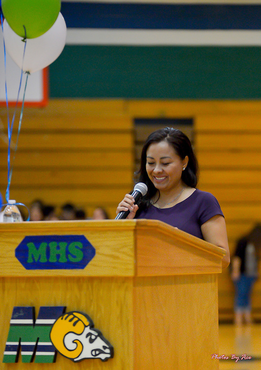 Diamond Price Tellez, Special Guest Speaker , Montwood High School