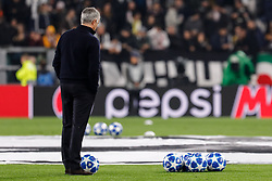 November 7, 2018 - Turin, Italy - Manchester United head coach Jose Mourinho during the warm-up ahead of the Group H match of the UEFA Champions League between Juventus FC and Manchester United FC on November 7, 2018 at Juventus Stadium in Turin, Italy. (Credit Image: © Mike Kireev/NurPhoto via ZUMA Press)