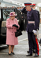 27.03.2018, Plymouth; UK: QUEEN ELIZABETH<br /> bid farewell to HMS Ocean, the Royal Navy&rsquo;s largest operational warship at a de-commissioning ceremony held at Devonport Naval Base, Plymouth.<br /> Mandatory Credit Photo: NEWSPIX INTERNATIONAL<br /> <br /> IMMEDIATE CONFIRMATION OF USAGE REQUIRED:<br /> Newspix International, 31 Chinnery Hill, Bishop's Stortford, ENGLAND CM23 3PS<br /> Tel:+441279 324672  ; Fax: +441279656877<br /> Mobile:  07775681153<br /> e-mail: info@newspixinternational.co.uk<br /> *All fees payable to Newspix International*