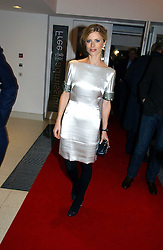 LAURA BAILEY at a party to celebrate the 90th birthday of Vogue magazine held at The Serpentine Gallery, Kensington Gardens, London on 8th November 2006.<br /><br />NON EXCLUSIVE - WORLD RIGHTS