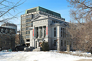 Redpath Museum, a natural history museum built in 1882 as a gift from the sugar baron Peter Redpath, part of McGill University, in Montreal, Quebec, Canada. Picture by Manuel Cohen