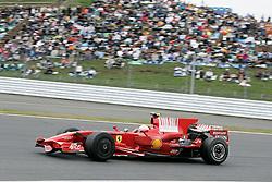 SHIZUOKA, JAPAN - Sunday, October 12, 2008: Felipe Massa (BRA, Scuderia Ferrari Marlboro) during the Japanese Formula One Grand Prix at the Fuji Speedway. (Photo by Michael Kunkel/Hochzwei/Propaganda)