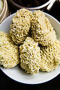 Dreid noodles.