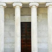 Whig Hall columns