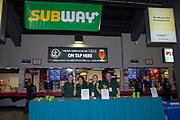 KELOWNA, CANADA - NOVEMBER 11:  Subway at the Kelowna Rockets game on November 11, 2017 at Prospera Place in Kelowna, British Columbia, Canada.  (Photo By Cindy Rogers/Nyasa Photography,  *** Local Caption ***