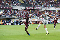 gol Edin Dzeko Roma goal celebration <br /> Torino 19-08-2018 Stadio Olimpico Grande Torino <br /> Football Calcio Serie A 2018/2019 Torino - Roma Foto Daniele Buffa / Image Sport / Insidefoto