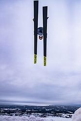 16.03.2019, Vikersundbakken, Vikersund, NOR, FIS Weltcup Skisprung, Raw Air, Vikersund, Teambewerb, im Bild Karl Geiger (GER) // Karl Geiger of Germany during the team competition of the 4th Stage of the Raw Air Series of FIS Ski Jumping World Cup at the Vikersundbakken in Vikersund, Norway on 2019/03/16. EXPA Pictures © 2019, PhotoCredit: EXPA/ JFK