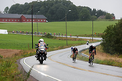 Early attacks during Ladies Tour of Norway 2019 - Stage 1, a 128 km road race from Åsgårdstrand to Horten, Norway on August 22, 2019. Photo by Sean Robinson/velofocus.com