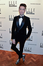 NICK GRIMSHAW at the 17th Elle Style Awards 2014 in association with Warehouse held at One Embankment, 8 Victoria Embankment, London on 18th February 2014.