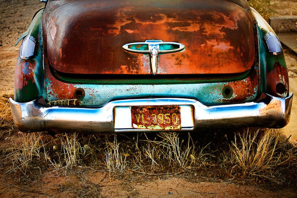 Buick Eighty-Eight. Bluff, Utah.