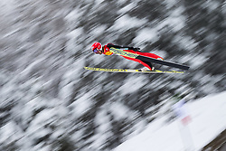 15.12.2017, Nordische Arena, Ramsau, AUT, FIS Weltcup Nordische Kombination, Skisprung, im Bild Yoshito Watabe (JPN) // Yoshito Watabe of Japan during Cross Country Training of FIS Nordic Combined World Cup, at the Nordic Arena in Ramsau, Austria on 2017/12/15. EXPA Pictures © 2017, PhotoCredit: EXPA/ Dominik Angerer