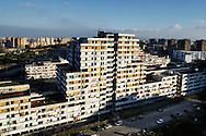 """Napoli, Italia - 14 gennaio 2011. Una veduta delle vele di Scampia a Napoli.Ph. Roberto Salomone Ag. Controluce.ITALY - A view of the """"vele"""" buildings in the district of Scampia in Naples on January 14, 2011."""