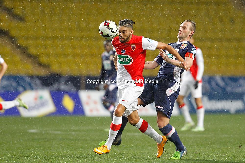 Yannick Ferreira Carrasco /  Olivier Sorlin   - 21.01.2015 - Monaco / Evian Thonon   - Coupe de France 2014/2015<br />Photo : Sebastien Nogier / Icon Sport