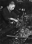 Lathe worker, The North 1940s
