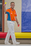 01-12-2013 : WATERPOLO : GZC DONK - SCHUURMAN BZC : GOUDA<br /> <br /> Scheidsrechter Anton Bervoets, KNZB, BVWS <br /> Kwartfinale Heren - KNZB Beker 2013 <br /> <br /> Foto: Gertjan Kooij