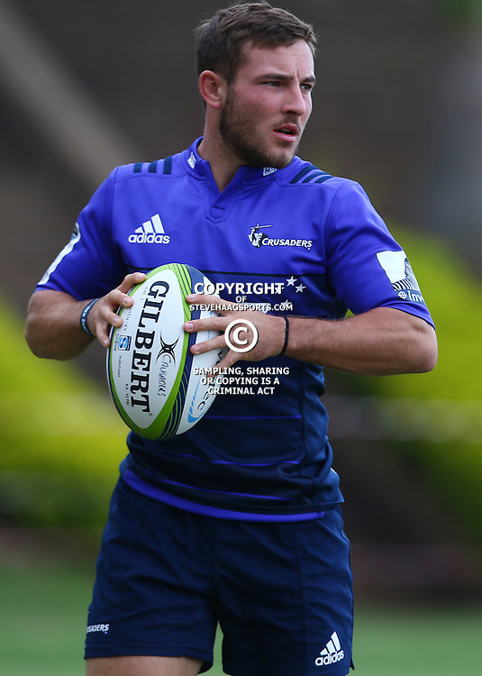 DURBAN, SOUTH AFRICA, 24,MARCH, 2016 - Mitchell Hunt during The Crusaders training session  at Northwood School Durban North in Durban and the Crusaders Media conference, South Africa. (Photo by Steve Haag)<br /> <br /> images for social media must have consent from Steve Haag