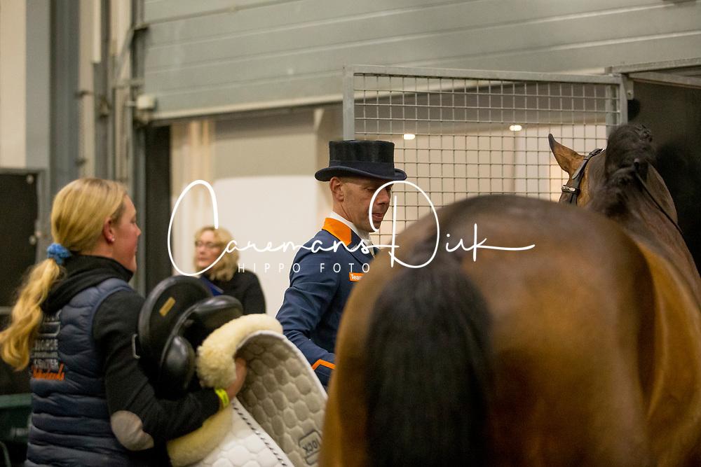 Minderhoud Hans Peter, NED, Glock's Johnson TN<br /> KWPN Stallion Show 2019<br /> © Hippo Foto - Sharon Vandeput<br /> 1/02/19