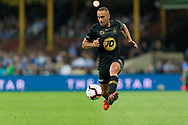 SYDNEY, AUSTRALIA - OCTOBER 27: Western Sydney Wanderers defender Tarek Elrich (21) controls the ball at The Hyundai A-League Round 1 soccer match between Sydney FC and Western Sydney Wanderers FC The Sydney Cricket Ground in Sydney on October 27, 2018. (Photo by Speed Media/Icon Sportswire)