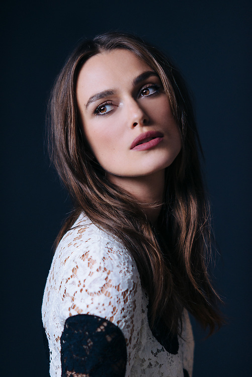 Actress Keira Knightley is photographed at the WireImage Portrait Studio during the 2014 Toronto Film Festival on September 9, 2014 in Toronto, Ontario. (Photo by Jeff Vespa)
