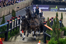 Exell Boyd, AUS, Bajnok, Barny, Demi, Rocket<br /> Vlaanderens Kerstjumping - Memorial Eric Wauters - Mechelen 2018<br /> © Hippo Foto - Dirk Caremans<br /> <br />  29/12/2018