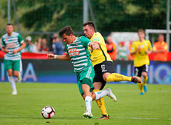 21.07.2019, Sportplatz, Allerheiligen bei Wildon, AUT, OeFB Uniqa Cup, USV Allerheiligen vs SK Rapid Wien, 1. Runde, im Bild Thomas Murg (SK Rapid Wien) und Josip Eskinja (SV Allerheiligen) // Thomas Murg (SK Rapid Wien) and Josip Eskinja (SV Allerheiligen) during the ÖFB Uniqa Cup, 1st round match between USV Allerheiligen and SK Rapid Wien at the Sportplatz in Allerheiligen bei Wildon, Austria on 2019/07/21. EXPA Pictures © 2019, PhotoCredit: EXPA/ Erwin Scheriau