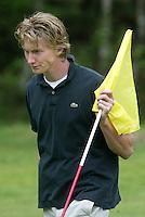 MOLENSCHOT - Niek Akersloot. Voorjaarswedstrijd golf 2003 op GC Toxandria. . COPYRIGHT KOEN SUYK