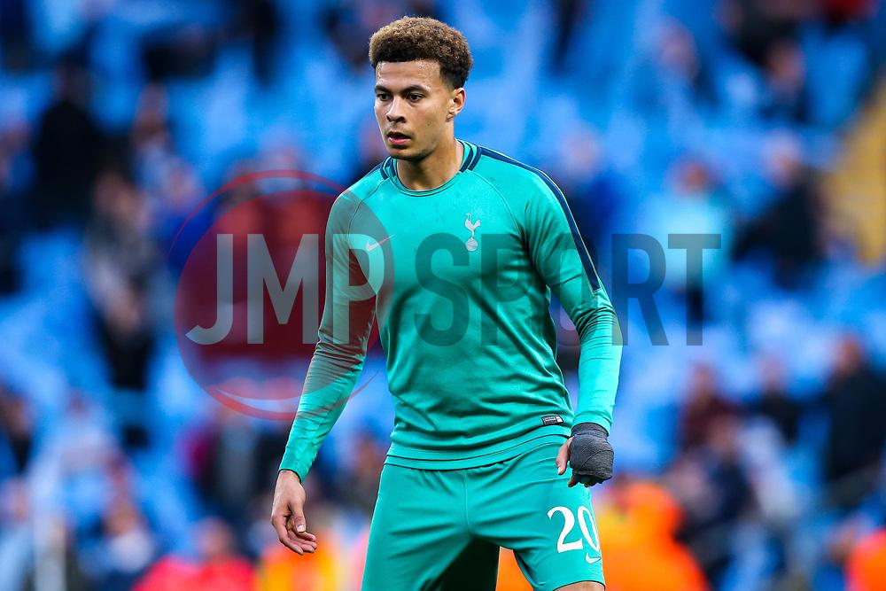 Dele Alli of Tottenham Hotspur - Mandatory by-line: Robbie Stephenson/JMP - 17/04/2019 - FOOTBALL - Etihad Stadium - Manchester, England - Manchester City v Tottenham Hotspur - UEFA Champions League Quarter Final 2nd Leg