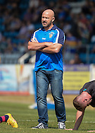 Jon Sharp Head Coach of Featherstone Rovers during the Super 8s Qualifiers match at The Big Fellas Stadium, Post Office Road, Pontefract.<br /> Picture by Richard Land/Focus Images Ltd +44 7713 507003<br /> 06/08/2016