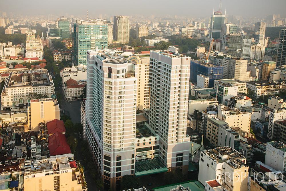 ho chi minh city (HCMC) Saigon, Sài Gòn, Vietnam, Caravelle Saigon, Sheraton Saigon Hotel & Towers