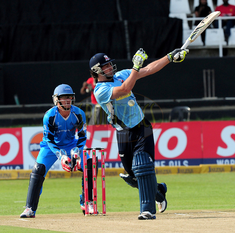 C de Grandhomme during match 8 of the Karbonn Smart CLT20 South Africa between The Titans and The Auckland Aces held at Kingsmead Park in Durban, South Africa on the 17th October 2012..Photo by Gerhard Duraan/SPORTZPICS/CLT20
