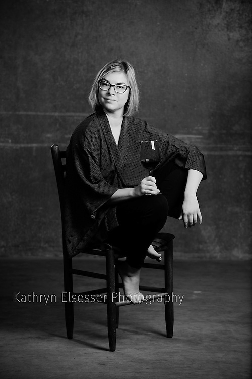 A Portrait of Sabrina Lueck, instructor of Enology at Walla Walla Community College