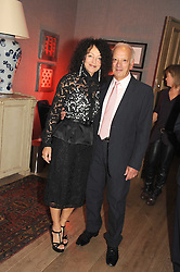 RICHARD POLO And TRICIA GUILD At The Andrew Martin 2008 International Interior Designer Of Year